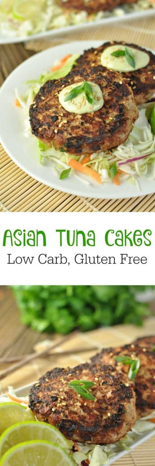 Asian Tuna Cakes - Low Carb, Gluten Free | Peace Love and Low Carb