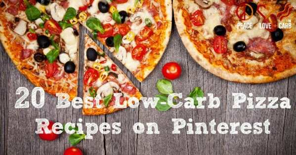 20 Best Low Carb Pizza Recipes on Pinterest | Peace Love and Low Carb