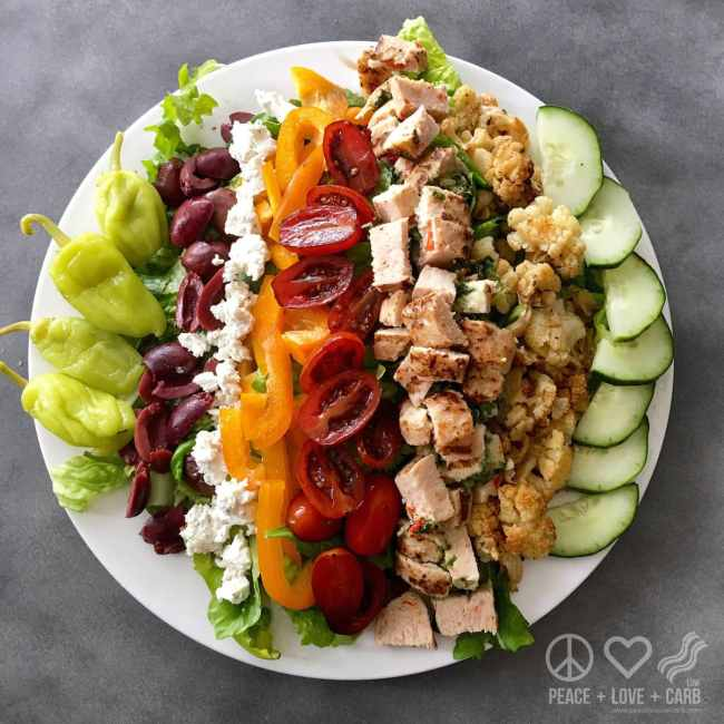 Salad A Day Challenge - Peace Love and Low Carb