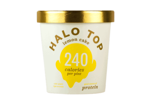 Halo Top Lemon Cake Ice Cream | Peace Love and Low Carb