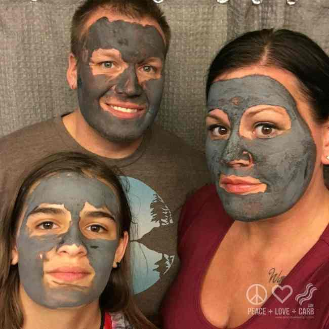 Family Beauty Night | Peace Love and Low Carb