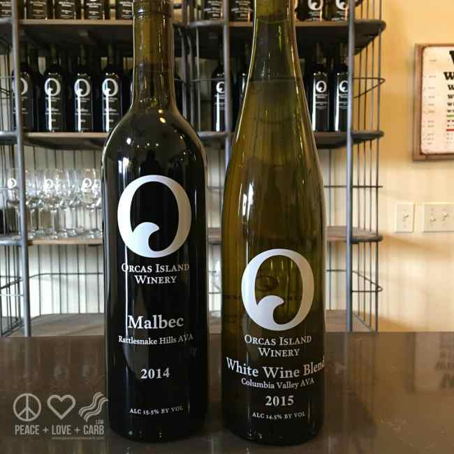 Orcas Island Winery Tour | Peace Love and Low Carb