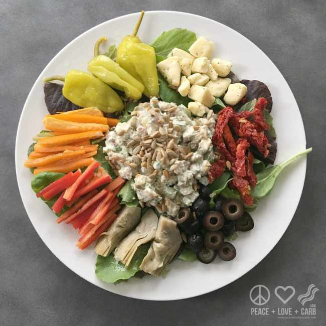 October Salad a Day Challenge - Low Carb | Peace Love and Low Carb