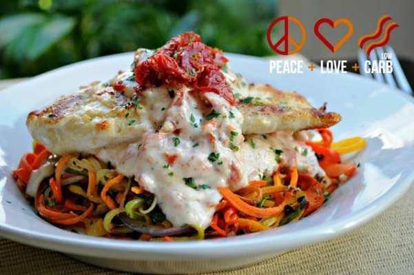 Rainbow Vegetable Noodles - Low Carb, Paleo, Whole30