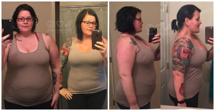 Before and During Weight Loss Progress | Peace Love and Low Carb