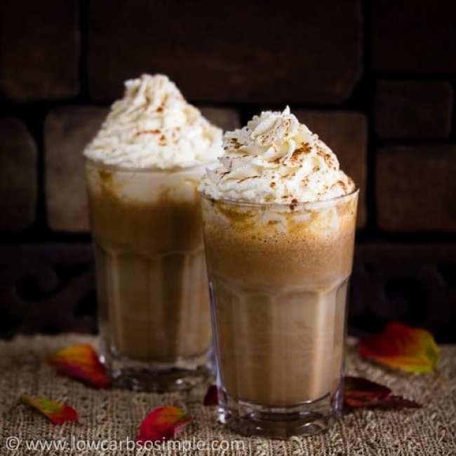 Low Carb Starbucks Copycat Pumpkin Spice Latte
