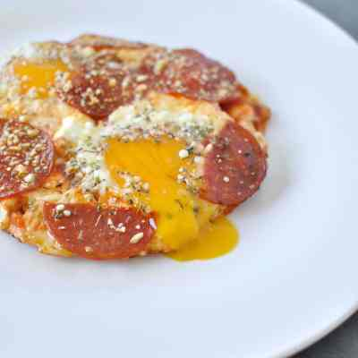 Pizza Eggs – Low Carb, Keto, Gluten Free