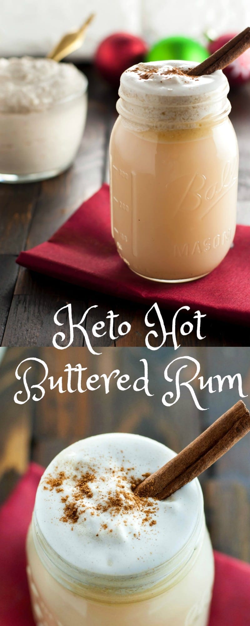 Keto Hot Buttered Rum - Low Carb, Gluten Free | Peace Love and Low Carb