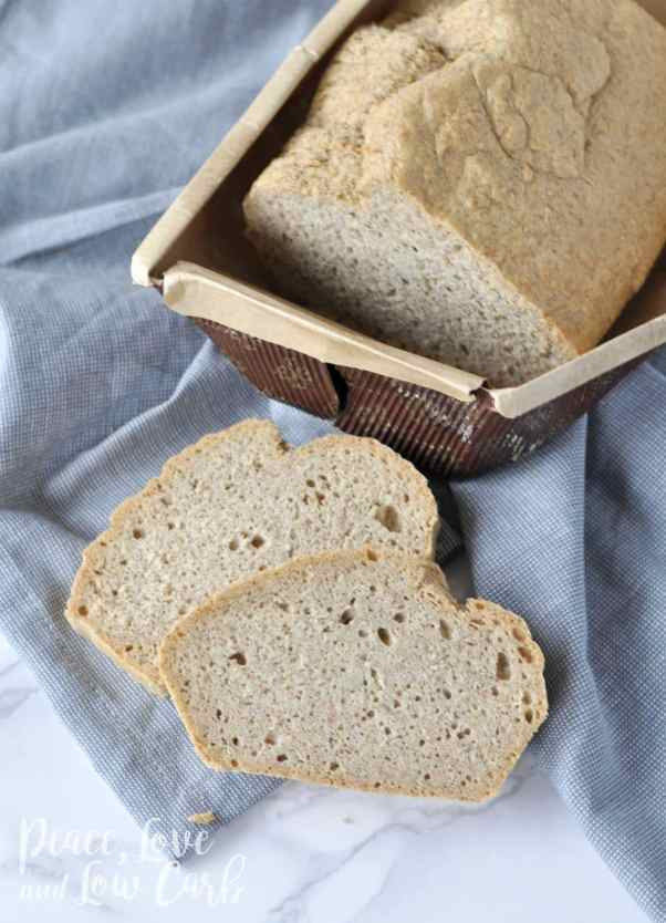 Fresh Baked Low Carb and Gluten Free Bread   Peace Love and Low Carb