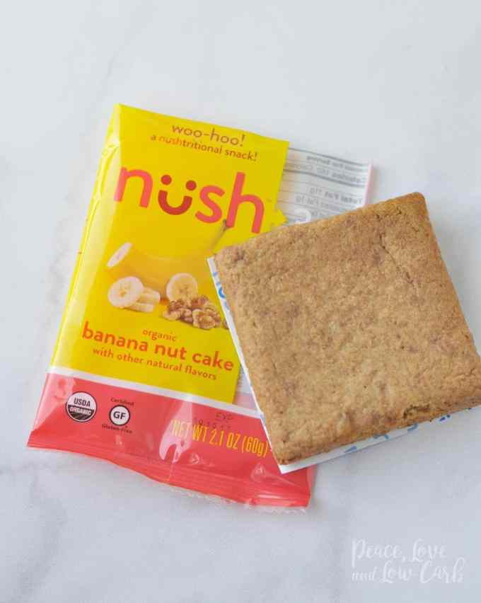 Banana Nut Cake Nush Low Carb Keto Snack Cakes - Peace Love and Low Carb