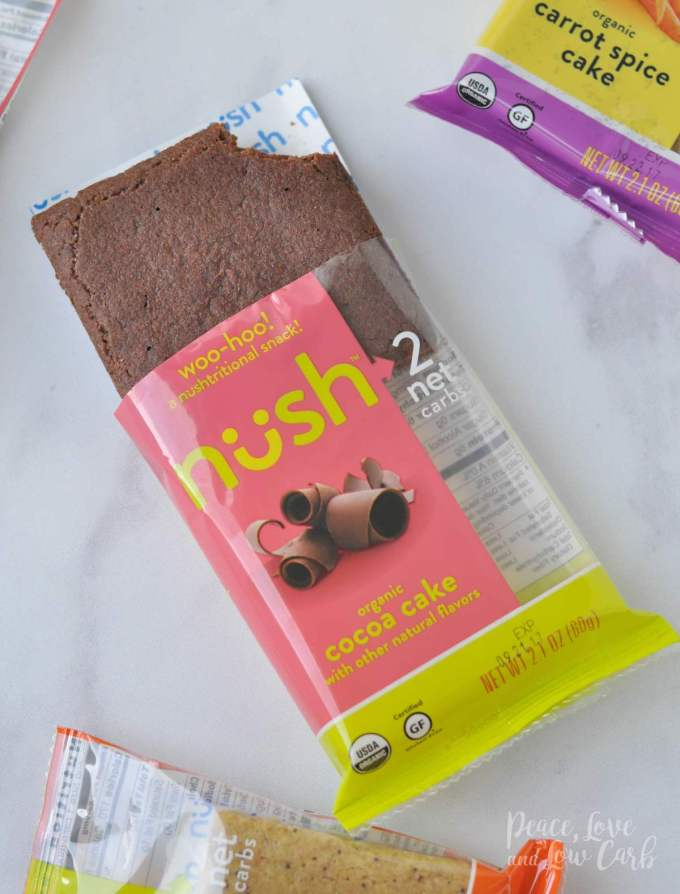Cocoa Cake Nush Low Carb Keto Snack Cakes - Peace Love and Low Carb