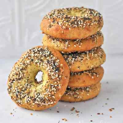 Low Carb Keto Everything Bagels