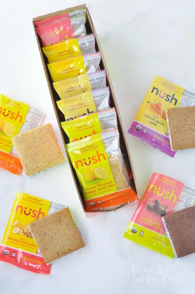 Nush Low Carb Keto Snack Cakes   Peace Love and Low Carb