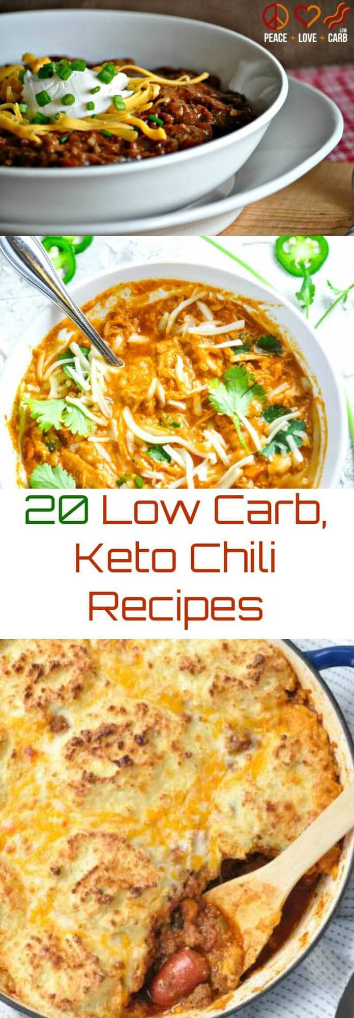 20 Low Carb Keto Chili Recipes | Peace Love and Low Carb
