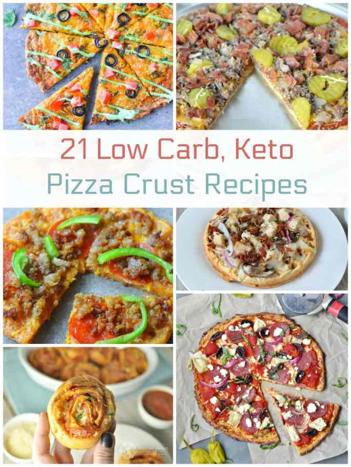 21 Low Carb Keto Pizza Crust Recipes | Peace Love and Low Carb