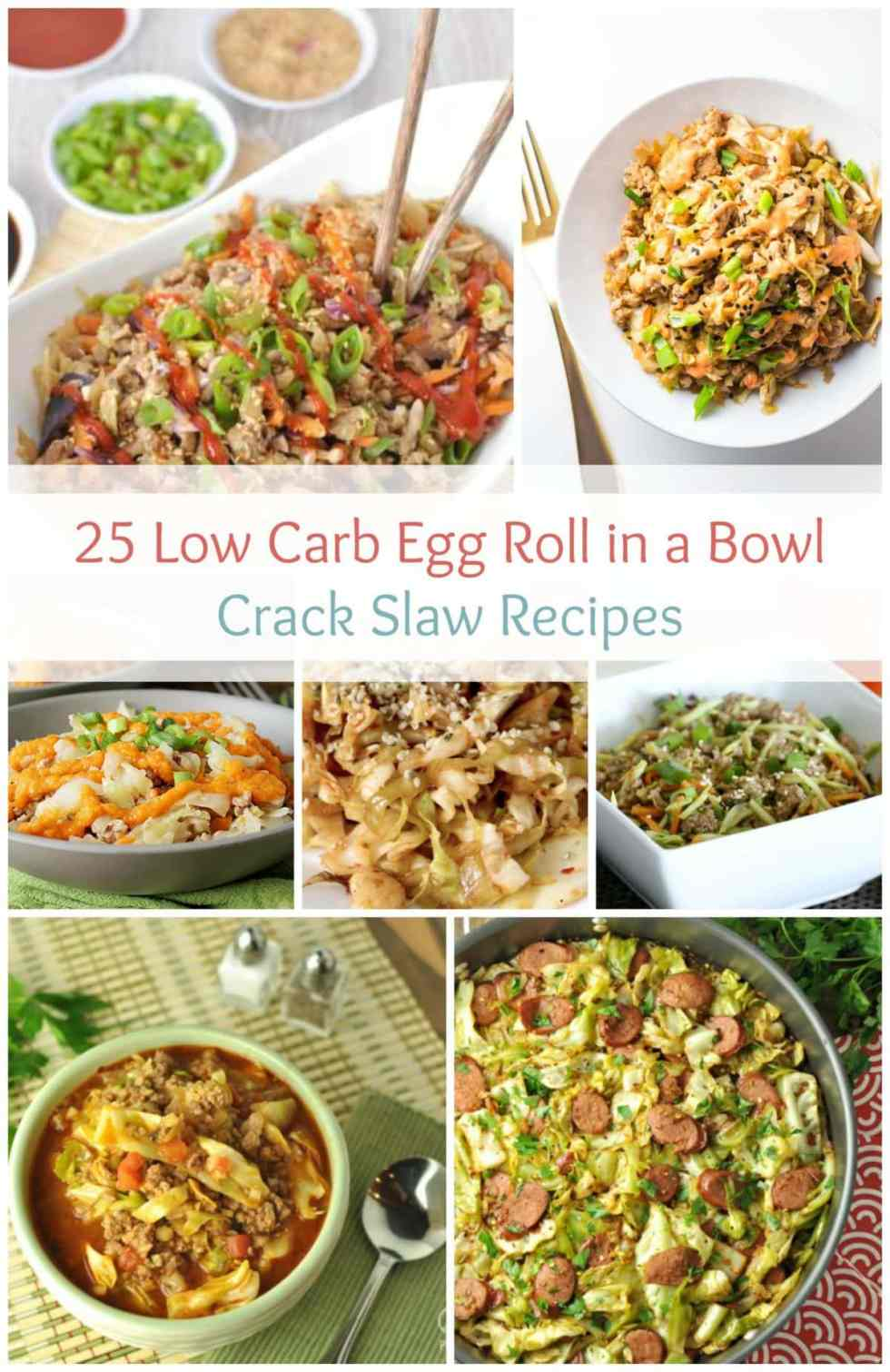 25 Low Carb Egg Roll in a Bowl Crack Slaw Recipes