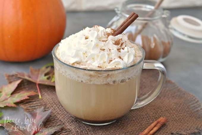 Low Carb Pumpkin Spice Latte