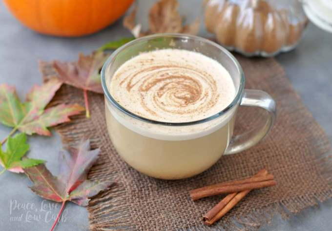 Pumpkin Spice Boosted Keto Coffee - Peace Love and Low Carb