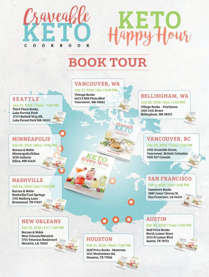 Peace love and low carb craveable keto book tour fandeluxe Image collections