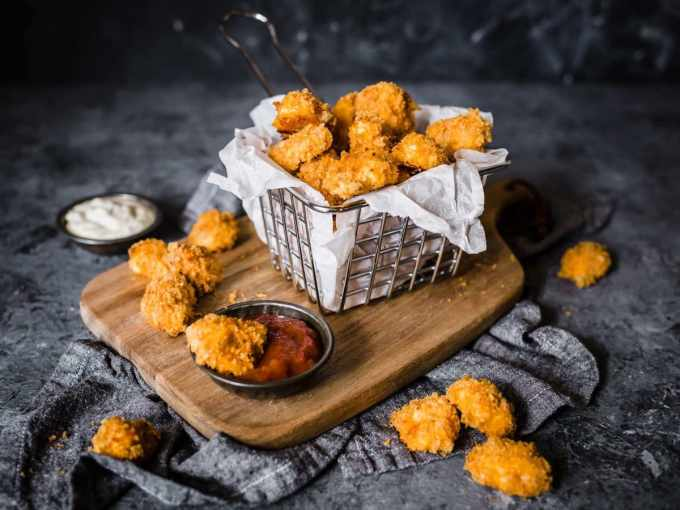 Keto Popcorn Chicken | Peace Love and Low Carb