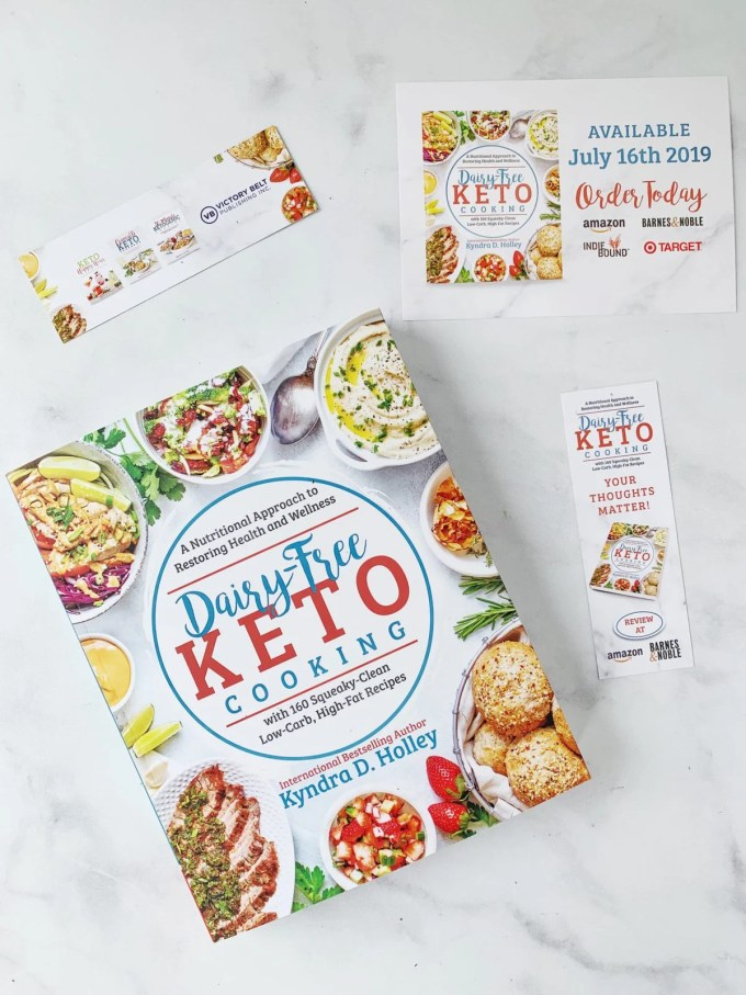 Dairy Free Keto Cooking GIVEAWAY Extravaganza - 11 Weeks of giveaways for the launch of my new book. Prizes from brands like Redmond Real Salt, Blendtec, Perfect Keto, Lily's and More...