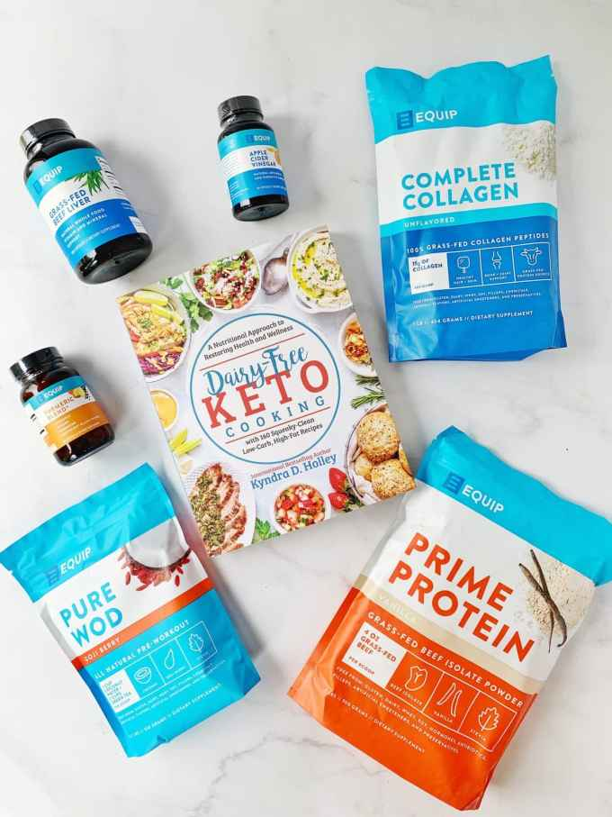 Dairy Free Keto Cooking GIVEAWAY Extravaganza - 11 Weeks of giveaways for the launch of my new book. Week 5 - Equip Foods