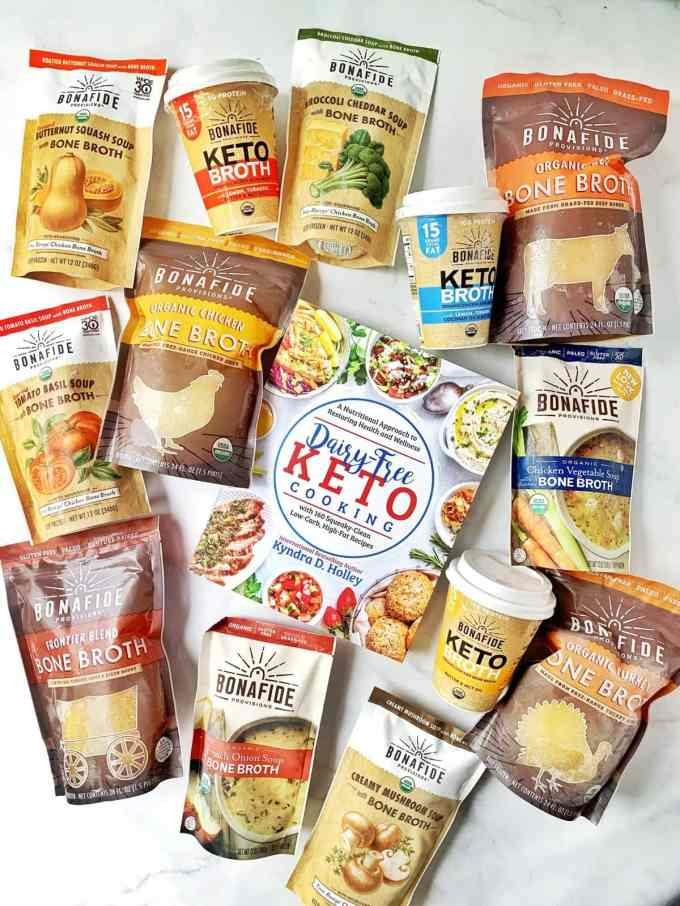 Dairy Free Keto Cooking GIVEAWAY Extravaganza - 11 Weeks of giveaways for the launch of my new book. Bonafide Provisions
