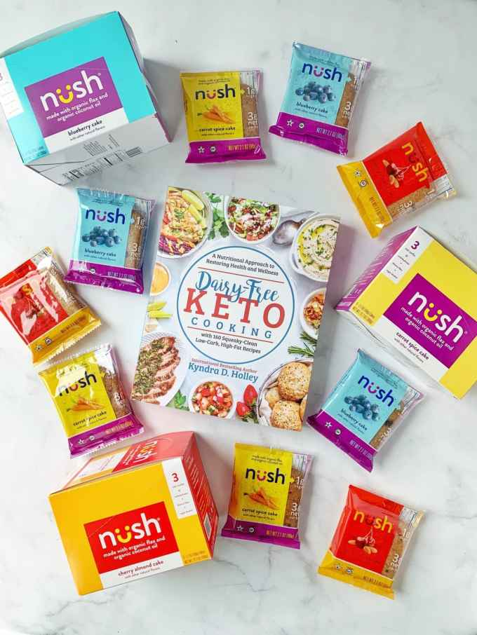 Dairy Free Keto Cooking GIVEAWAY Extravaganza - 11 Weeks of giveaways for the launch of my new book. Nush Cakes