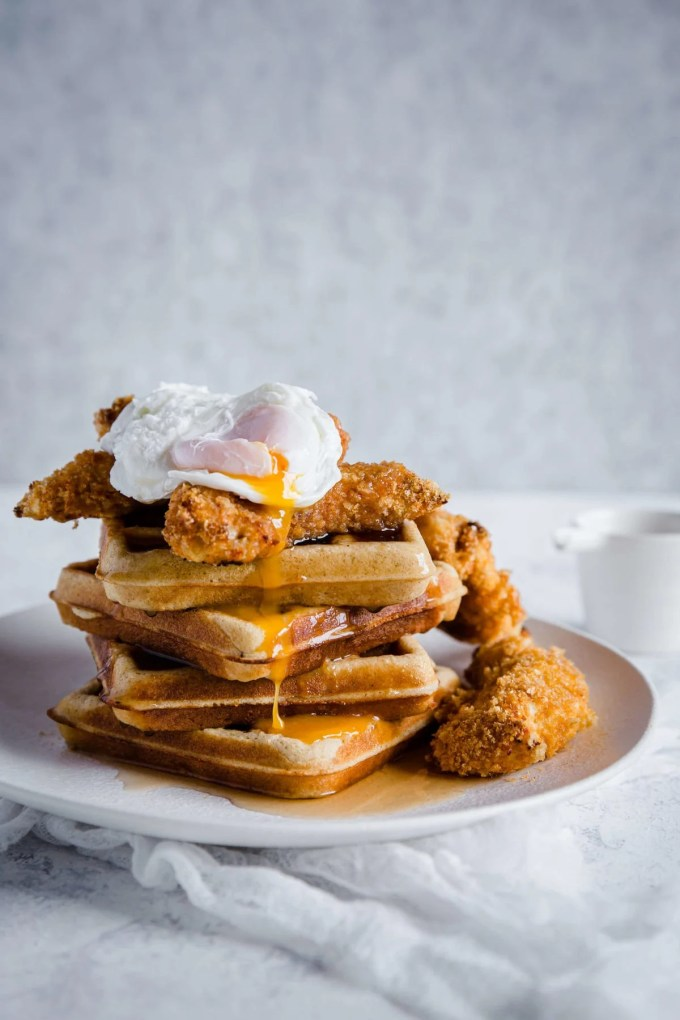 This Keto Chicken and Waffles recipe is combining the ultimate soul food with comfort food at its finest. This healthier version may be low carb, and gluten free, but it is packed with flavor.