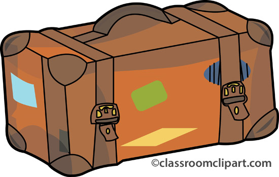 Unpack Suitcase Clipart