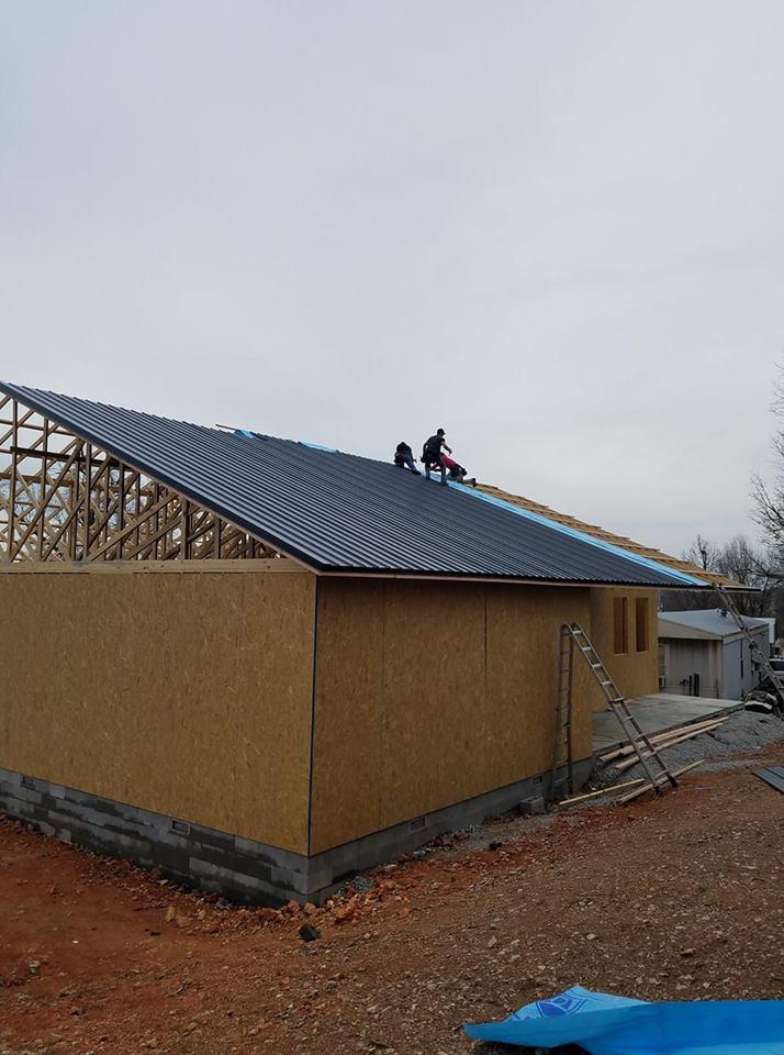 nwa metal roofing