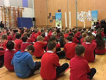 Allanton World Peace Sanctuary visits Troqueer Primary School – Dumfries, Scotland