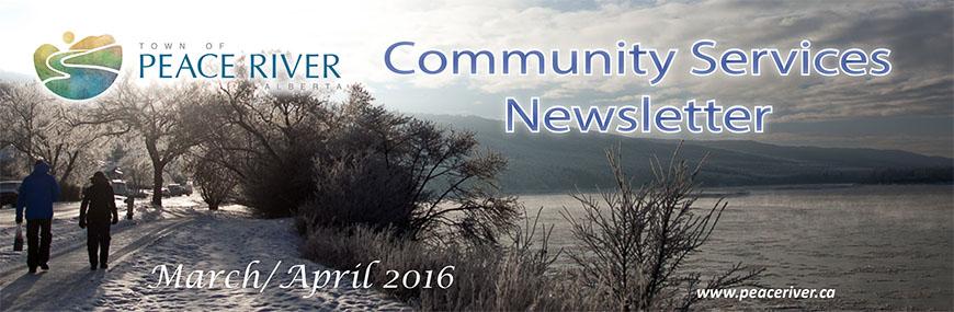 March April Community Services News