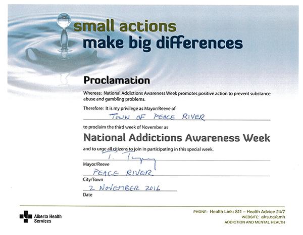 addictions-awareness-week-proclamation