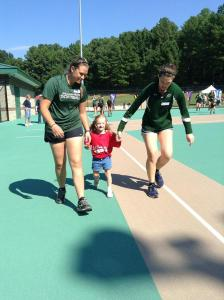 WPU students helping at the miracle league event