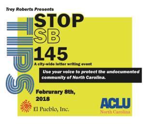 stop sb145 event information