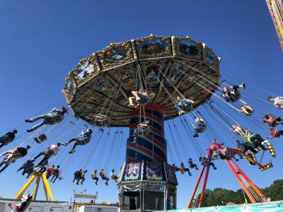 Swings at the NC State Fair