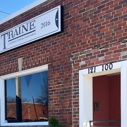 Traine building where the Red Rose Ball will be held