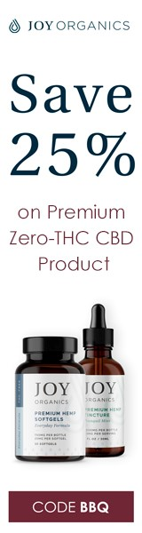 Joy Organics - Pharmaceutical Grade Hemp CBD Oil