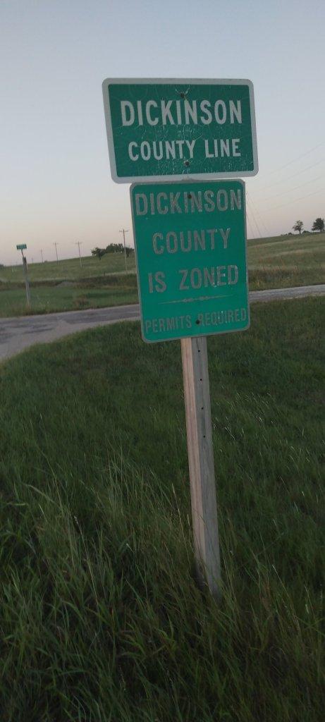 Dickenson County line