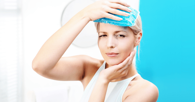Natural therapies can help migraine sufferers.