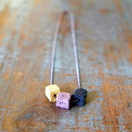 Lava Cube Necklace