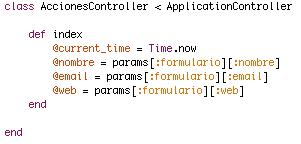 Ruby on Rails; Vistas, Formularios con Form Helpers y envío de parámetros (POST) (2/6)