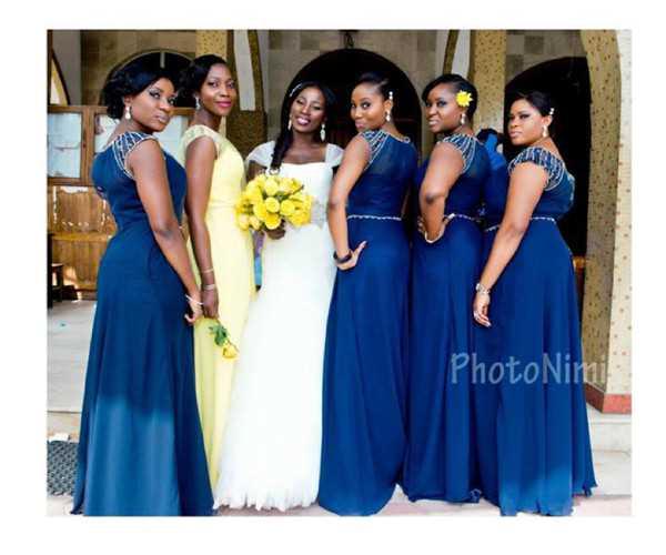 Super Nigerian Bridesmaid Dresses..