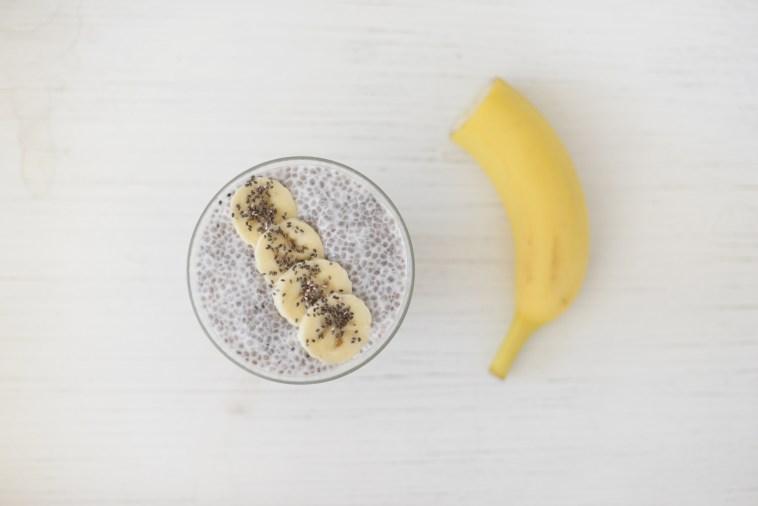 Graze Banana Chia Seed Pudding
