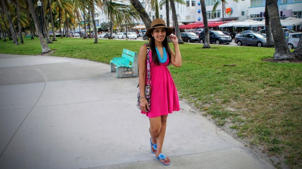 Hot Pink Sundress 11