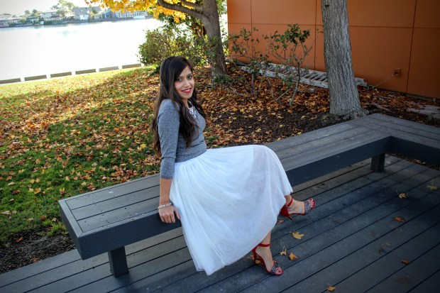 White Tulle Skirt 3