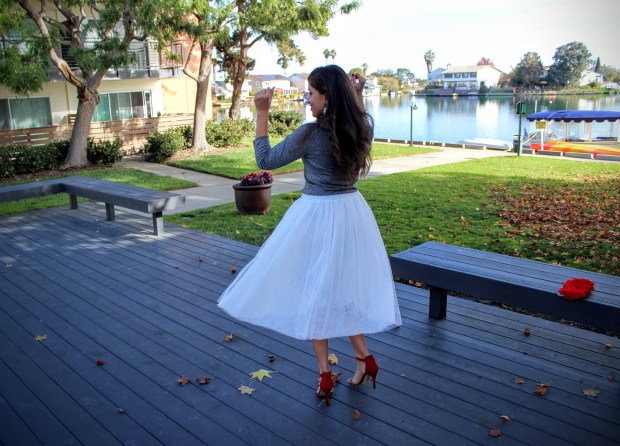 White Tulle Skirt 4