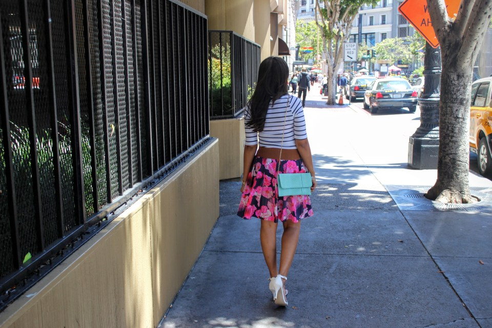 Florals and Stripes 8