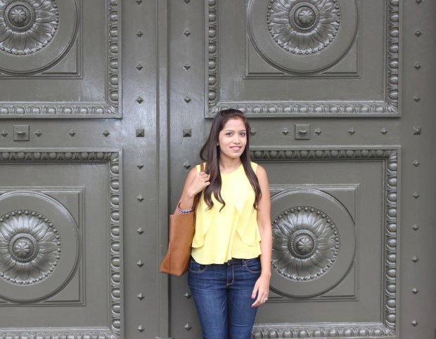 Yellow Top Blue Jeans 1